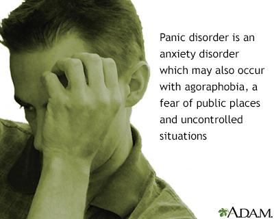 Trastorno del pánico con agorafobia