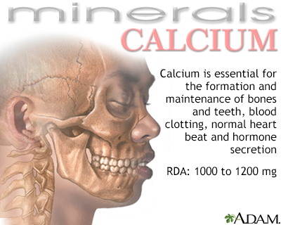 Calcium benefit