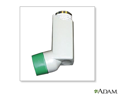 Metered dose inhaler use - part one