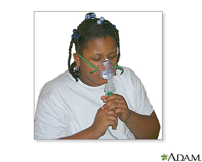 Nebulizer use - part six