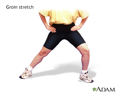 Groin stretch