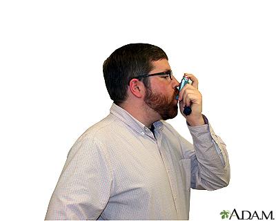 Metered dose inhaler – step four