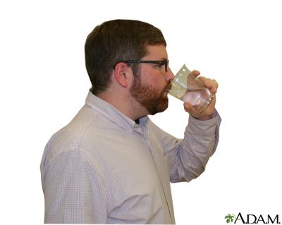 Metered dose inhaler – step six