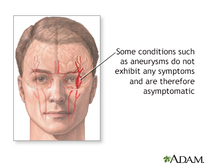 Asymptomatic conditions