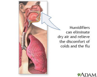 Humidifiers and health