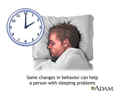 Insomnia concerns