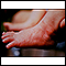 Erythema toxicum on the foot